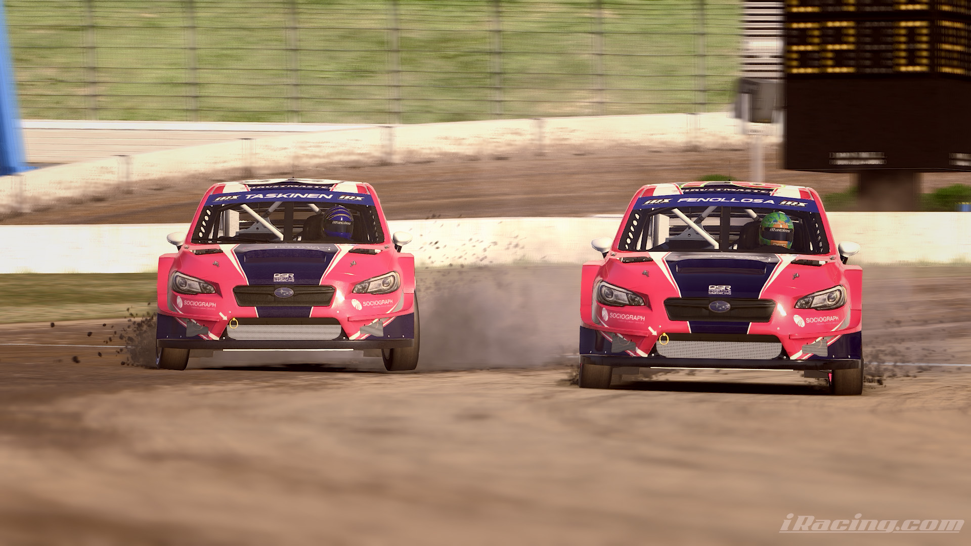 P5, and a race victory in our fantastic first participation in a RallyCross World Championship